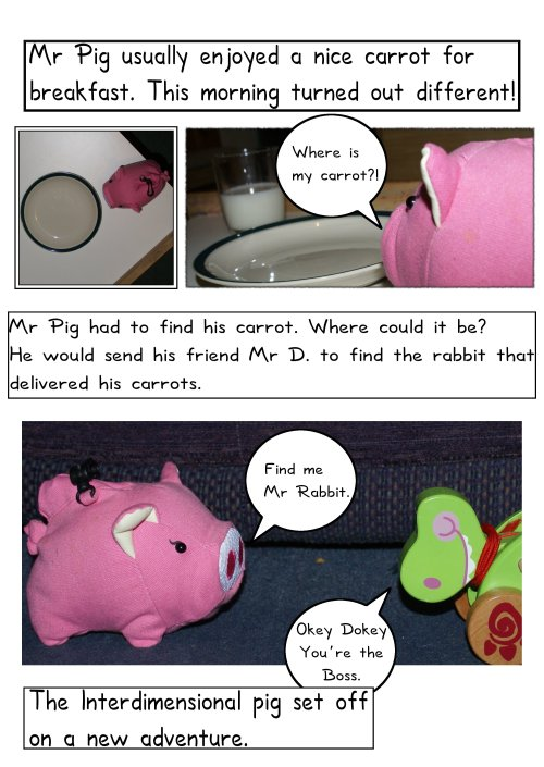 The Adventures of Mr Pig - Page One